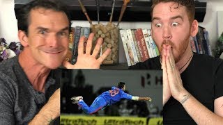 Best Catches in Cricket History! REACTION!!!