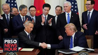 What Phase 1 of Trump's China trade deal includes -- and what it doesn't