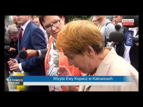 Wizyta Ewy Kopacz W Katowicach