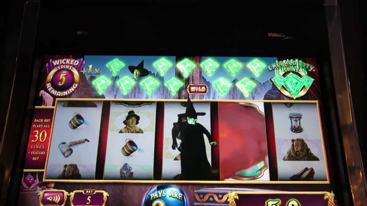 wicked witch slot machine