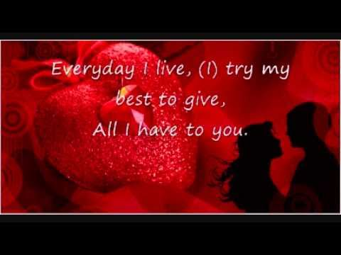 KENNY CHESNEY ME AND YOU with Free Love Songs eCards – 123 Greetings Valentines Day Cards
