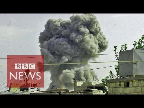 Inside Kobane: Keeping Islamic State at bay