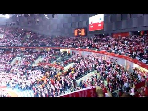 Polska-Serbia Piłka Ręczna Mecz Otwarcia ME-Hymn Narodowy Kraków 15.01.2016