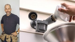 (7.25 MB) How to Replace an Exterior Flood Light with Motion Sensor Mp3