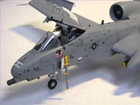 A-10 warthog 1:48 - YouTube