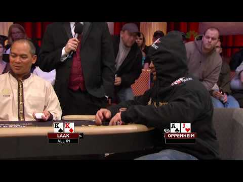 National Heads Up Poker Championship 2009 Episode 4 3/4 Video