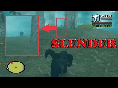 SLENDER IN SHADY CREEKS in GTA San Andreas +[DOWNLOAD LINK]