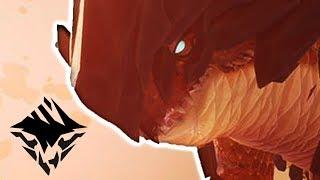 ♥ Dauntless Gameplay & First Impressions - Hammer Vs Skarn (Solo Hunt - Closed Beta)