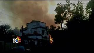 Major Fire Breaks Out Firecracker Factory in Kumardhubi   Jharkhand