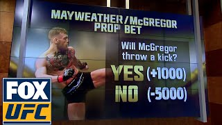 Floyd Mayweather vs Conor Mcgregor - Here is what you can bet on | UFC TONIGHT