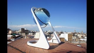 Güneş Panellerinden 10.000 Kat Fazla Enerji Üretebilen Güneş Küresi