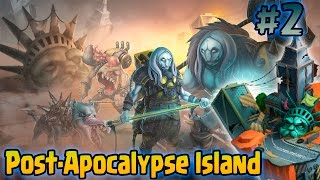Monster Legends - ISLA POSTAPOCALIPTICA (Post-Apocalypse Island) - Dr. Hazard Y Growler | #2