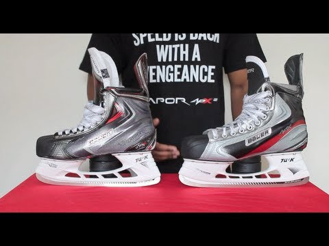 Bauer Vapor APX Skates vs APX2 Ice Hockey Skates Review - APX Compared To APX 2 Detailed Comparison