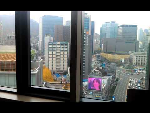 Seoul, breakfast view