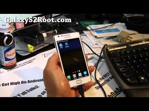 How to Root Galaxy S2 i9100! [ICS]