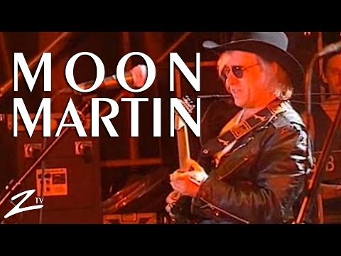 Moon Martin - Bad News - LIVE