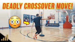 "How to: DEADLY BASKETBALL MOVES! Break Ankles with ""The Drop Cross"""