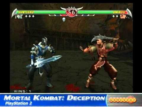 Mortal Kombat: Deception Xbox/PS2 Review