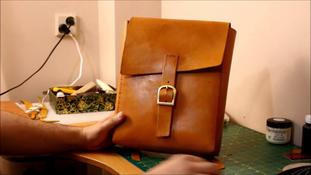 Как сделать кожаный рюкзак своими руками 47