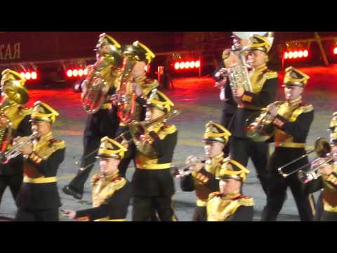 Выступление оркестра Минобороны на фестивале Спасская башня 2017