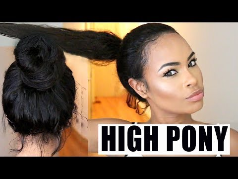 How to Put Your Wig into a HIGH Ponytail : Watch me SLAY this Cheap 360 Wig!