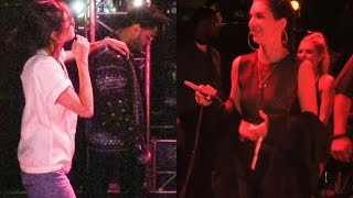 Download video Kendall Jenner laughing at Selena Gomez & The Weeknd at Coachella?