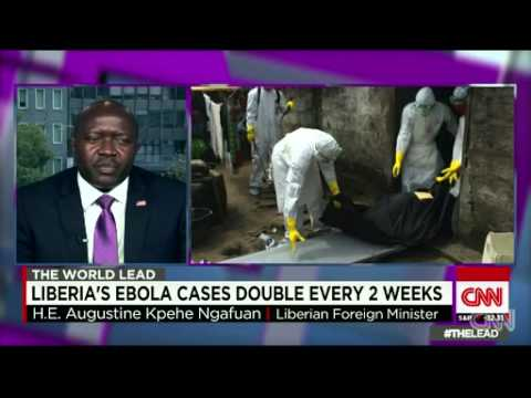 Liberia's Ebola cases double every 2 weeks – CNN's The Lead with Jake Tapper