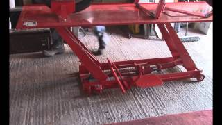 Sealey MC401 Motorcycle Workshop jack lift ramp Honda Magna
