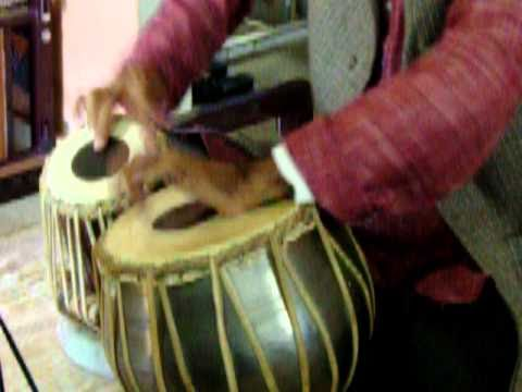 Kaharba Taal on Tabla by Bhola Pd Singh
