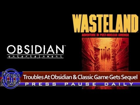 Troubles At Obsidian and Classic Game Gets Sequel - Press Pause Daily