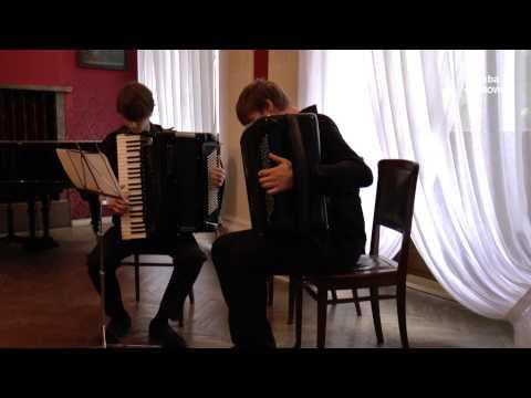"Vivaldi ""Wiosna"" na akordeon i bajan"