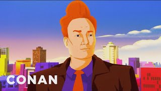 "Conan's ""Spider-Man: Into The Spider-Verse"" Cold Open - CONAN on TBS"