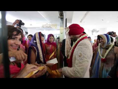 A Punjabi Wedding Highlights of Karan+Jasreen