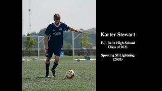 Karter Stewart - College Soccer Recruiting Highlight Video - Class of 2021