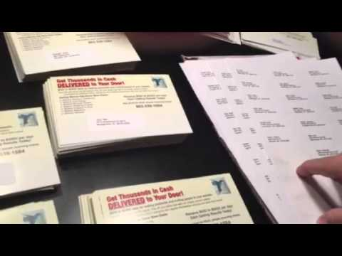 Home business franchise $3500 daily postcard business