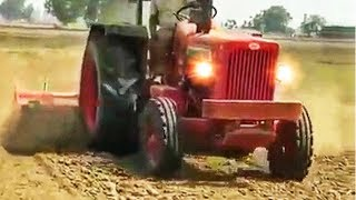 mahindra 575 pulling 10 feet rotavator 💪💪💪
