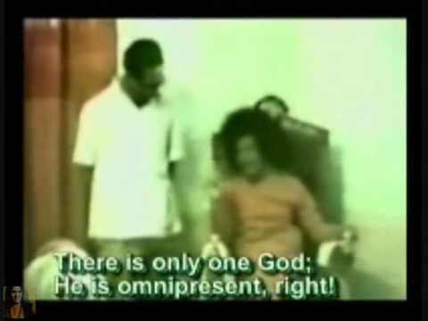 Sai Baba Avatar in 1978 from Mahatma Br  Krishananda Praying for His Health
