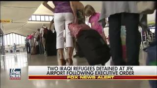 Two Iraqi refugees detained at JFK