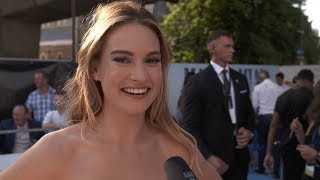 MAMMA MIA! 2 Here We Go Again WORLD PREMIERE Interviews - Lily James, Cher, Pierce Brosnan