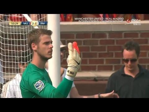 David De Gea Vs. Real Madrid 14-15 [Neutral] [HD 720p]