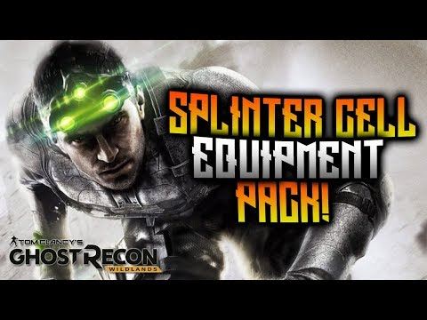 Ghost Recon Wildlands - Splinter Cell Equipment Pack! Year 2 Pass Content