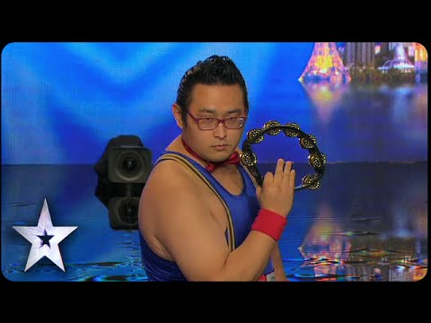Gonzo: Asia's First Tambourine Master | Asia's Got Talent 2015 Episode 1