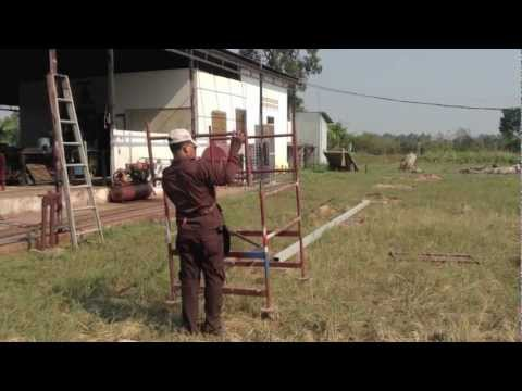 22 01 2013 Continuano i lavori (la casa dei mestieri) Siem Reap (Puok district) Cambogia