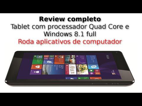 Review: CCE TF74W - meio tablet. meio computador.