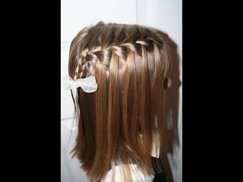 Cute Girls Hairstyles | Waterfall French Braid