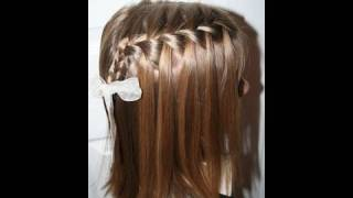 The Waterfall Braid {Plait} | Popular Hairstyles | Cute Girls Hairstyles