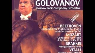 Brahms Hungarian Dances 5, 8 ,9, 20 - David Oistrakh, Violin
