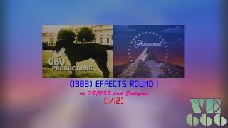 UBU Productions/Paramount Television (1989) Effects Round 1 vs IVE135 and Everyone (1/12)