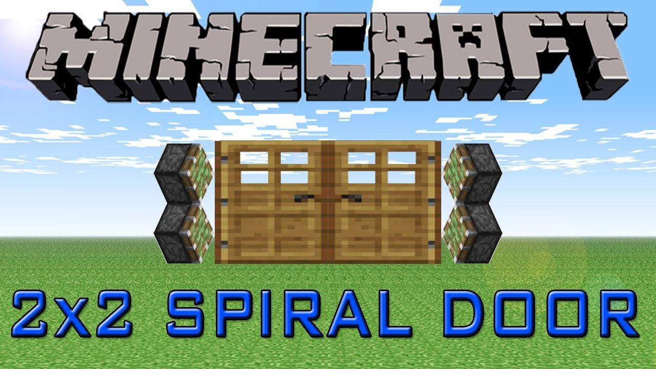 Piston Door 2x2 2x2 Spiral Piston Door