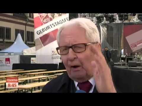 SPD-Ikone Vogel blafft ARD-Moderatorin an